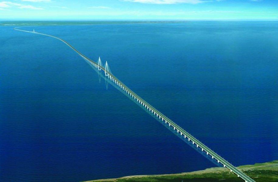 самый длинный мост в Китае-2