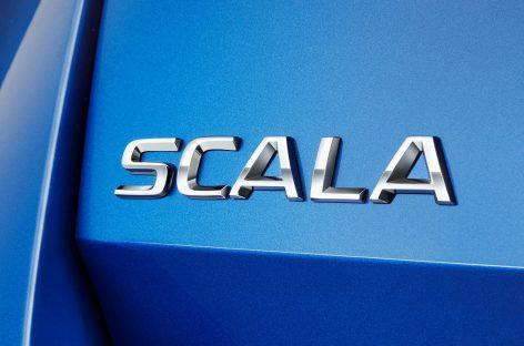 Чешский бренд раскрывает название своей будущей компактной модели – Skoda Scala