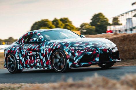 Toyota рассекретила двигатели для новой Toyota Supra