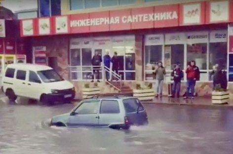 В Краснодарском крае введен режим ЧС из-за ливней