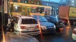 В Кемерове троллейбус протаранил восемь машин