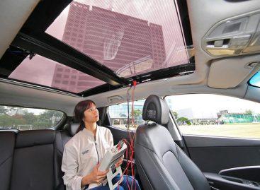 Планируется интеграция солнечных элементов в электромобили KIA и Hyundai