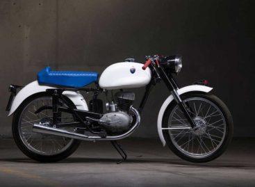 На аукцион во Франции выставили редкий мотоцикл Maserati 125 Tipo T2 1955 года
