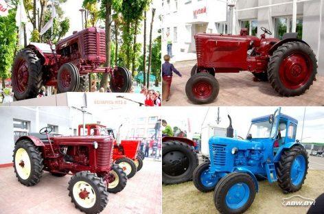 История колесных тракторов МТЗ
