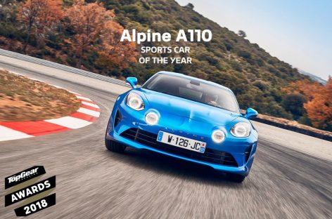 Alpine a110 вышел в финал конкурса «Автомобиль года 2019»