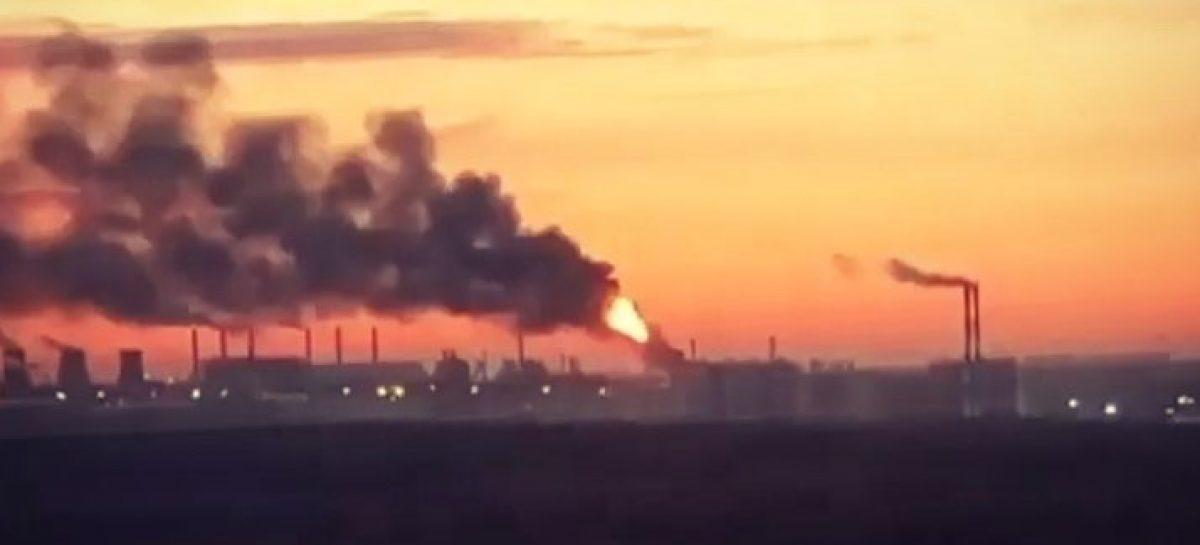 Названа причина пожара на МНПЗ в Капотне