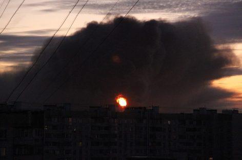 Пожару на нефтеперерабатывающем заводе в Капотне присвоен второй ранг