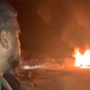 Олег Ярошевич сжег свой Range Rover