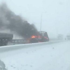 В Ростов-на-Дону пришла зима...внезапно