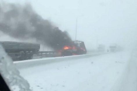 В Ростов-на-Дону пришла зима…внезапно