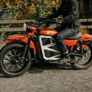 Концепт мотоцикла Урал с электроприводом