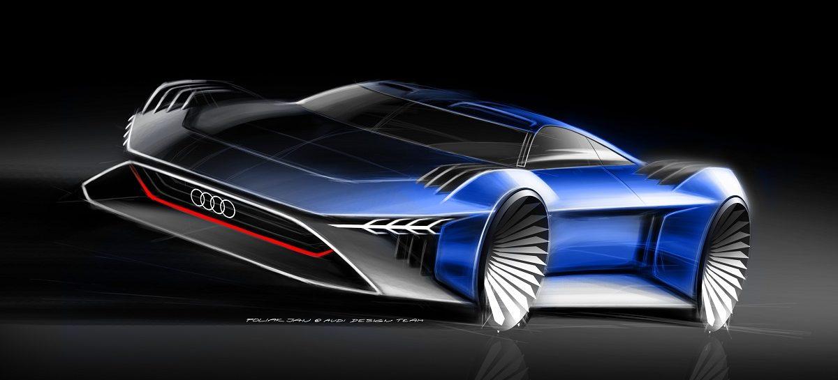 Audi RSQ e-tron дебютирует в фильме «Камуфляж и шпионаж»