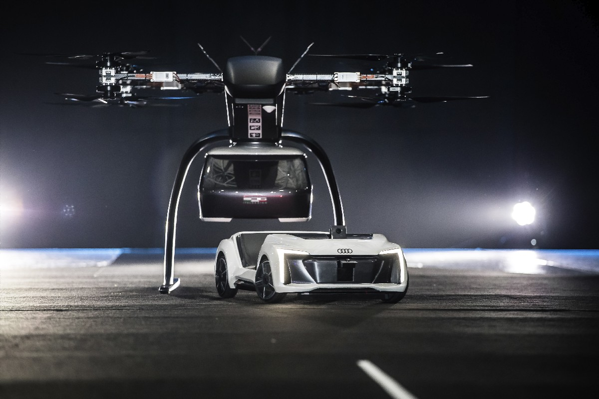 Audi, Airbus and Italdesign test Flying Taxi Concept