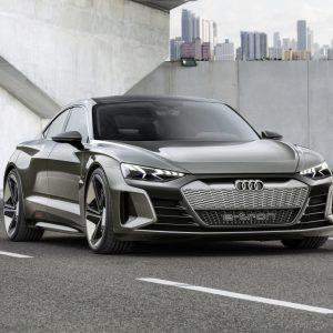 Представлен концепт Audi e-tron GT
