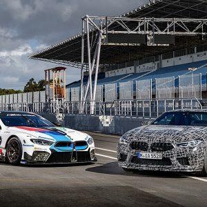 BMW M8 турбированным мотором мощностью 600 л.с.