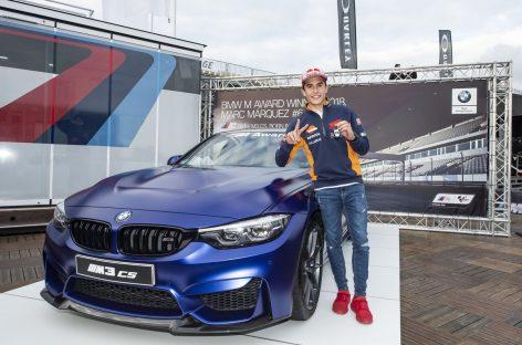 Марк Маркес в шестой раз заработал премию BMW M Award в шоссейно-кольцевых мотогонках MotoGP