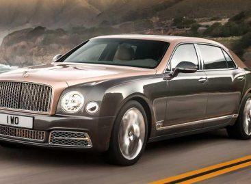 Bentley представит первый в мире Wi-Fi для автомобилей