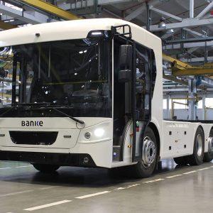 «Богдан» представил первый украинский электрический грузовик - ERCV27