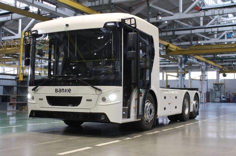 «Богдан» представил первый украинский электрический грузовик – ERCV27