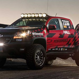 Гоночный вариант Chevrolet Colorado ZR2