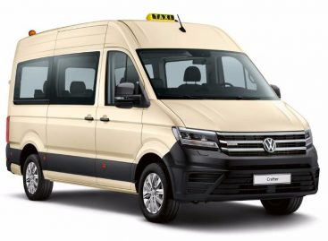 Новинки Volkswagen на выставке такси в Кельне