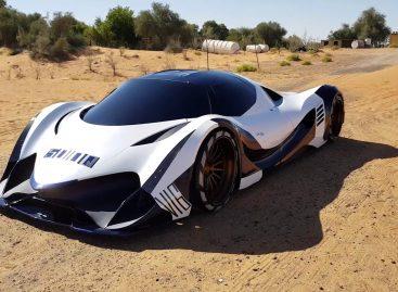 5000-сильный гиперкар  Devel Sixteen впервые показали на видео