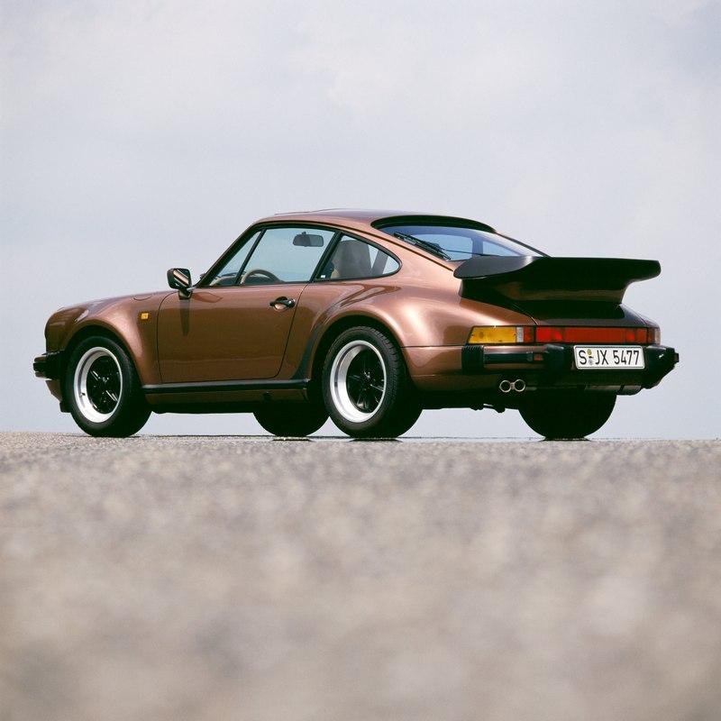 Die G-Serie Porsche 911 Turbo 3.3
