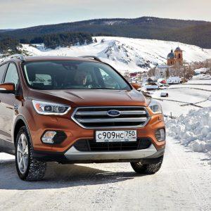 В России произведен 75-тысячный кроссовер Ford Kuga