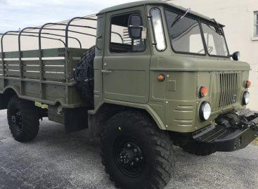 ГАЗ-66 1983 года продается с аукциона в США
