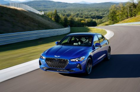 Журнал Motor Trend назвал Genesis G70 «Автомобилем года 2019»