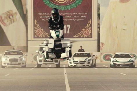 Полицейские Дубая пересядут на летающие мотоциклы из России