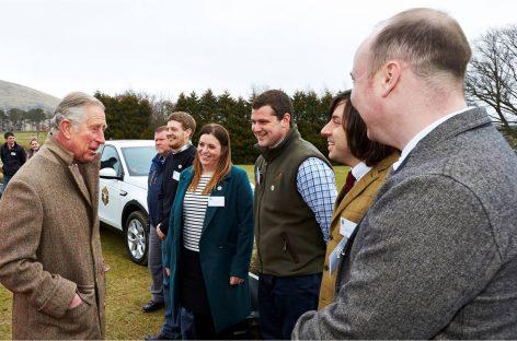 Jaguar Land Rover запустила серию волонтерских проектов к юбилею принца