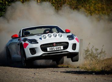Jaguar представляет два раллийных кабриолета F-TYPE
