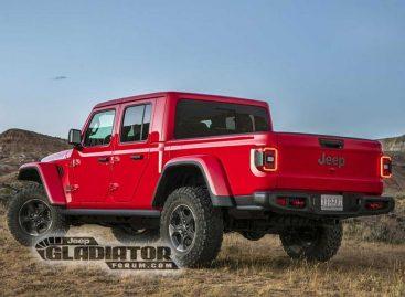 Фото пикапа Jeep Gladiator появились в сети