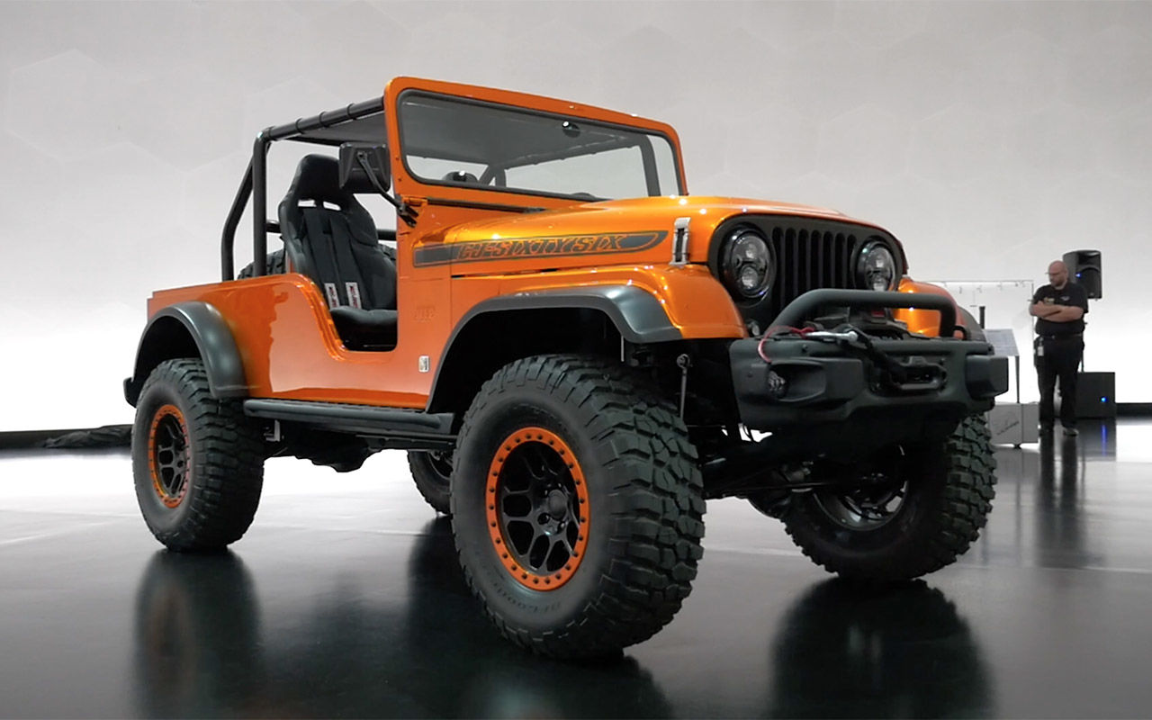Jeep Wrangler CJ