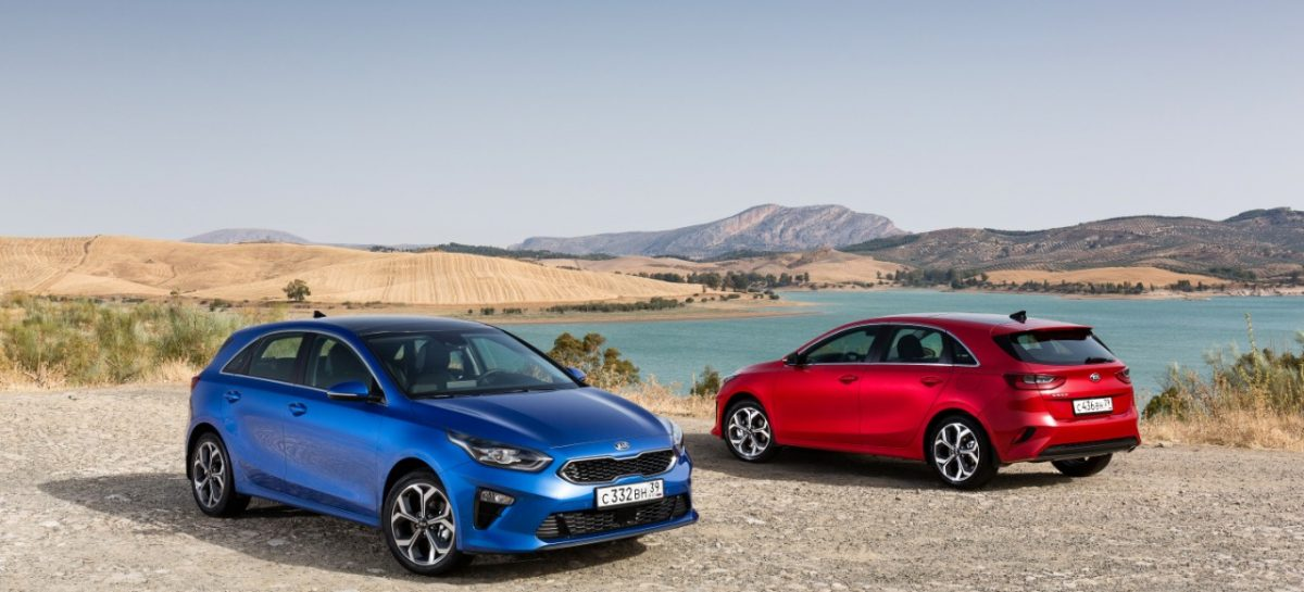 KIA Ceed вошел в шорт-лист конкурса Автомобиль года