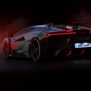 Lamborghini SC18 получил эксклюзивное гоночное оснащение