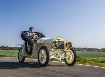 Единственный экземпляр спортивного Laurin & Klement BSC 1908 года представлен в музее Skoda