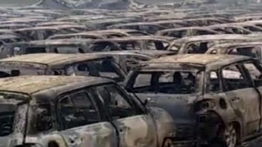 Сотни новых Maserati уничтожены пожаром в Савоне