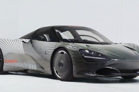 McLaren представила первый тестовый образец гипекара Speedtail