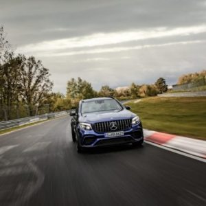 Новый рекорд Нюрбургринга установил кроссовер Mercedes-AMG GLC 63 S 4Matic+