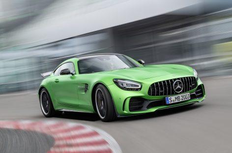 Новые Mercedes-AMG GT и GT R PRO