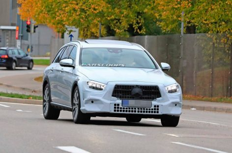 Mercedes-Benz E-Class All-Terrain увидели на дорожных испытаниях