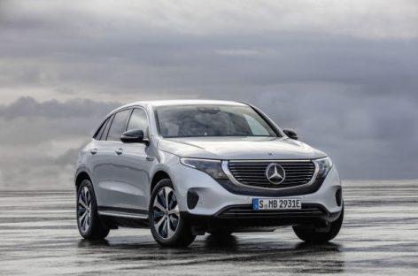 Производство Mercedes EQC начнется в середине 2019 года