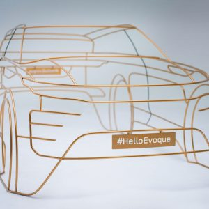 Land Rover представляет уникальные скульптуры Range Rover Evoque