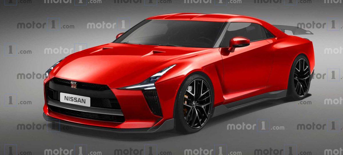 Представлена визуализация нового спорткара Nissan GT-R