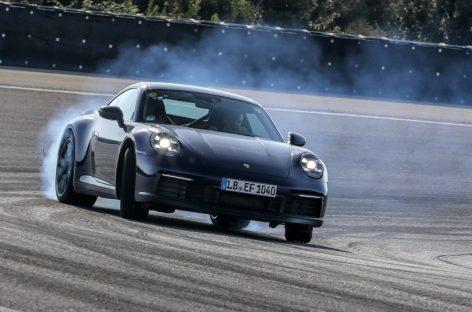 Новое поколение Porsche 911 проходит финальные испытания