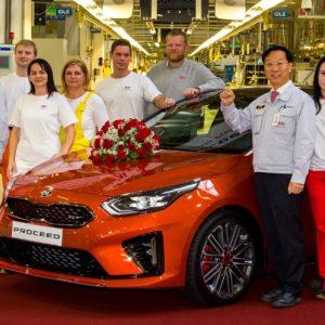 Стартовало производство нового KIA ProCeed в Словакии