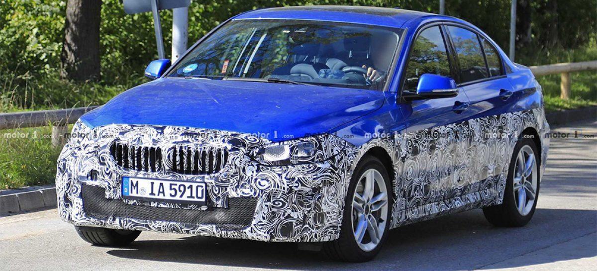 BMW 1-Series заметили на дорожных тестах