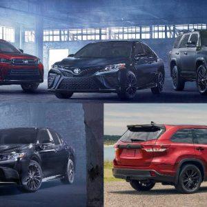 Toyota представит в Лос-Анджелесе специальные версии Camry и Highlander